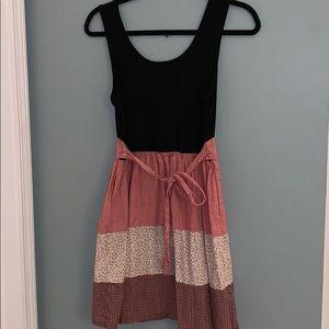 Massimo dress size medium black and red